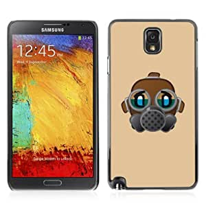 Designer Depo Hard Protection Case for Samsung Galaxy Note 3 N9000 / Gas Mask