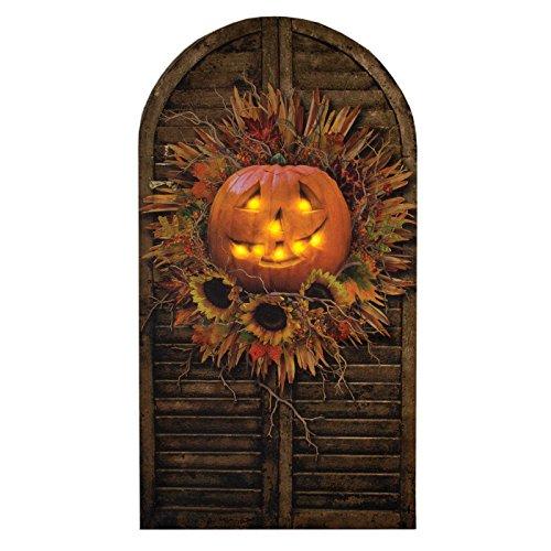 Ohio Wholesale Halloween Shutter Radiance Lighted Wall (Wholesale Primitive Halloween Decor)