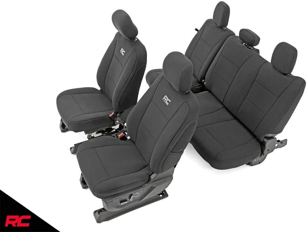 Rough Country Water Resistant Front and Rear Neoprene Seat Covers