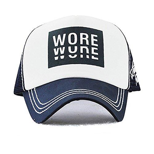 DEELIN Sombrero para Las Mujeres Hombres Llevaba WUNE Impresión Bordado Flor Denim Cap Gorra De BéIsbol Niños NiñAs Snap Back Flat Hat: Amazon.es: Ropa y ...