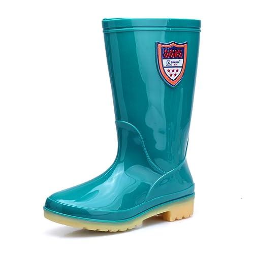 Wellington Rain Boots Botas de Agua de Lluvia de la Sra