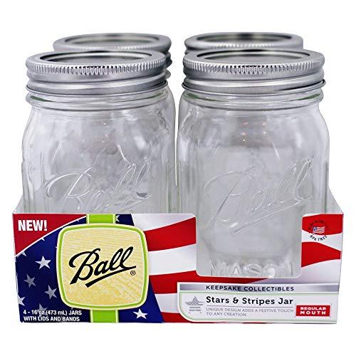 Canning Jar Pt Usa4pk