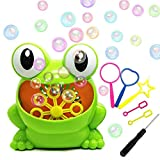 Best Bubble Machines - HKDA Bubble Machine, Frog Bubble Maker Blower, Kids Review