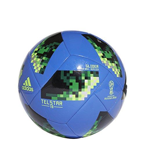 Adidas World Cup 2018 Glider Training Soccer Ball 3 Blue/Green