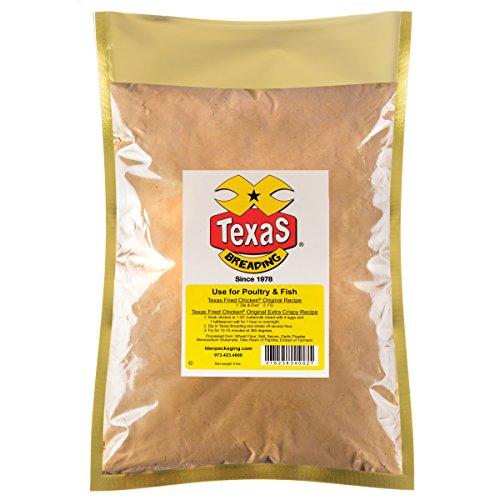 - Texas Fried Chicken Breading, 5 lbs.