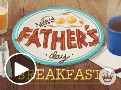 Father's Day Breakfast Animated link image