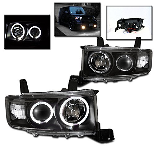 ZMAUTOPARTS Scion XB Wagon 5Dr Dual Halo Projector Headlights Lamps JDM (5dr Wagon)