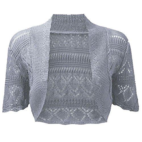 Ladies Knitted Bolero Crochet Cardigan product image
