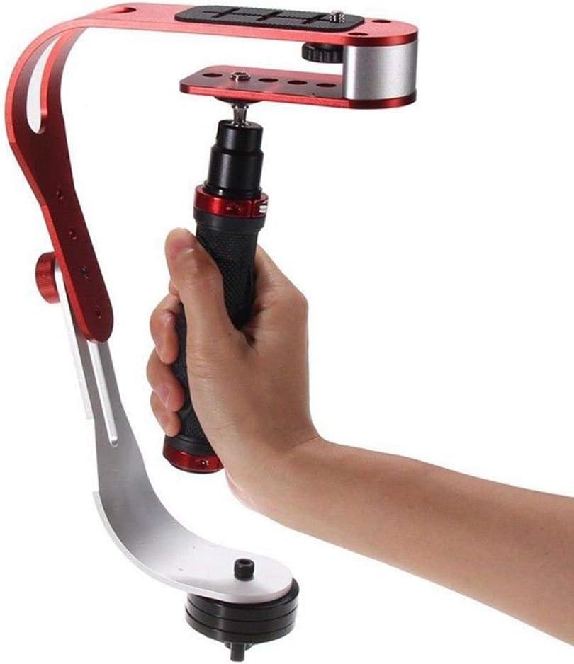 RONSHIN Pro Camera Stabilizer Handheld Steadicam for Camcorder DS LR Gimbal red
