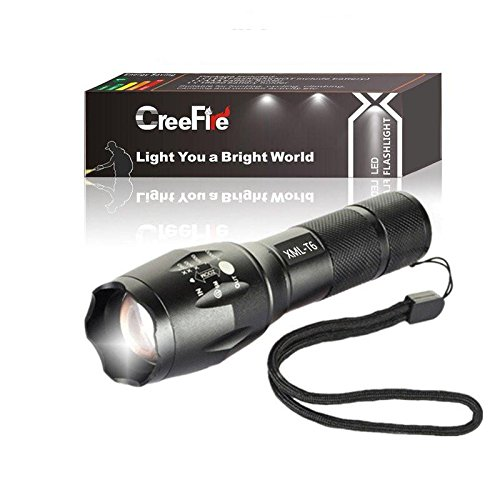 Military Grade 5 Mode CREE XML T6 3000 Lumens Tactical Led Waterproof Flashlight Get 2 for Only $19.95