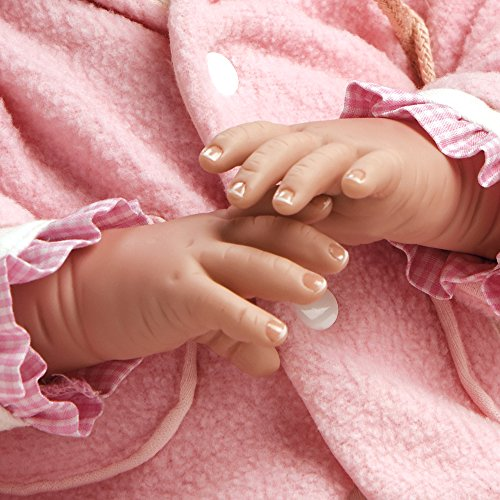 881862e3c71d Paradise Galleries Reborn Baby Girl Doll That Looks Real Cuddle Bear Bella