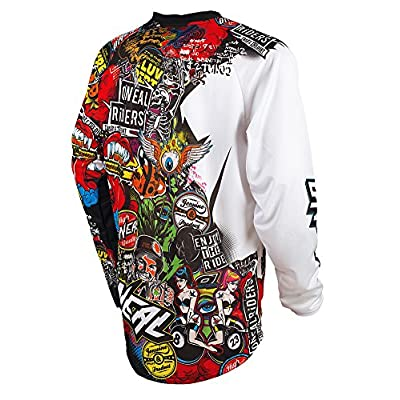 O'Neal 0023-105  Mayhem Crank Men's Jersey (Black/Multi, X-Large): Automotive