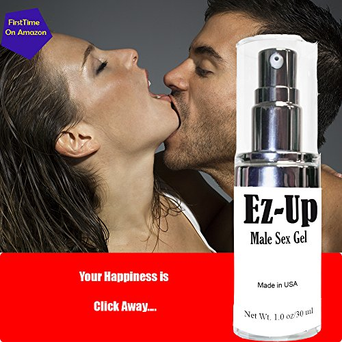 """""""Ez-Up"""" Powerful Sex Cream Gel │All Ages of Adult Men│Sex Cream│Libido, Climax Orgasm│ Ready To go! │ All Your Happiness│Try Tonight│ Heavenly Sex Pleasure │Proudly Made In USA."""