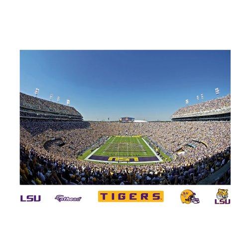 NCAA Louisiana State Fightin Tigers Tiger Stadium Mural Wall - Stadium State Tigers Louisiana