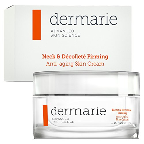 Dermarie Neck & Decollete Firming Anti-aging Skin Cream with Moisturizing Hyaluronic Acid, 1.7 oz.