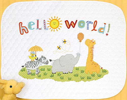 Dimensions 70-75327 Hello World Quilt Counted Cross Stitch K