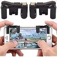 Bigmai iPhone Gamepad Trigger Fire Button Aim Key L1R1 Shooter Controller PUBG V3.0 FUT1 para teléfonos inteligentes Android, teléfonos móviles, tabletas y dispositivos