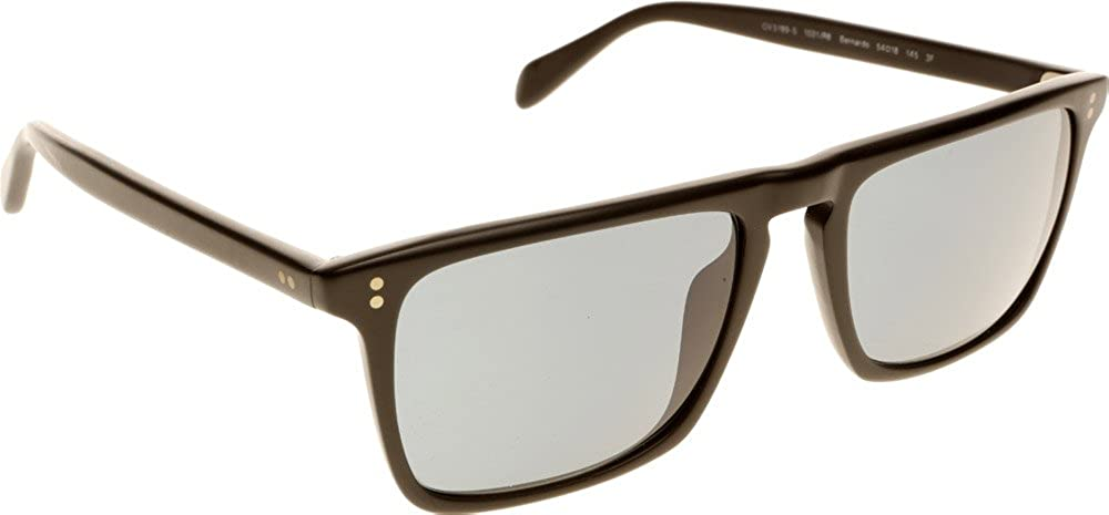 0f2a2dca9c Oliver Peoples 5189-S Bernardo Sunglasses 1031 R8 Matte Black ...