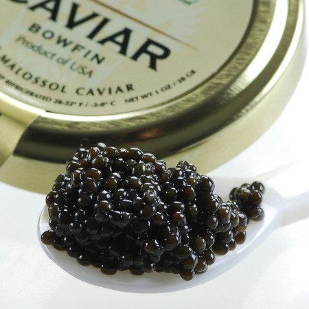 American Black Bowfin Caviar Malossol - 5.50 oz by Marky's Caviar