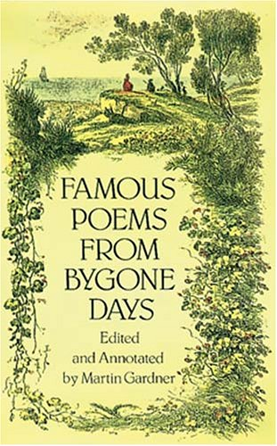 Famous Poems from Bygone Days (Dover Books on Literature & Drama)