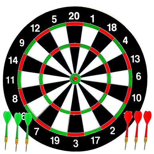 Dartboard Set Ideal for Kids by Laeto Toys