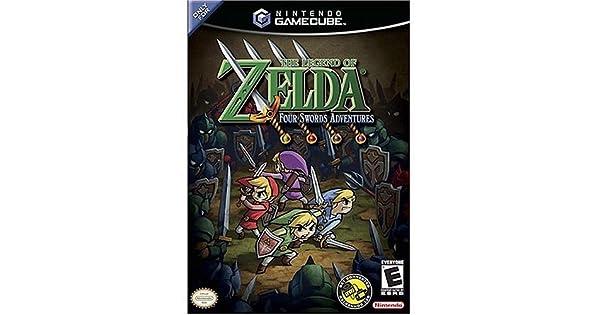 Amazon.com: The Legend of Zelda: Four Swords Adventures ...
