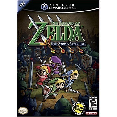 Where to find gamecube zelda four swords?