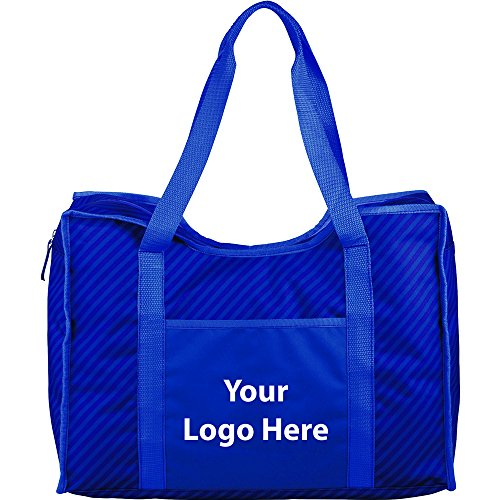 Zippered Organizer Tote - 60 Quantity - $10.35 Each - PROMOTIONAL PRODUCT / BULK / BRANDED with YOUR LOGO / CUSTOMIZED by Sunrise Identity