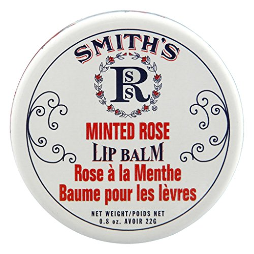 Salve Lip Balm (Rosebud Lip Balm, Minted Rose, .8 Ounce)