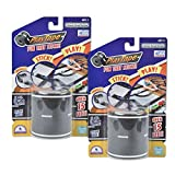 """PlayTape Classic 2 Pack Black Road Blistercard 2""""x15 - Road Car Tape Great for Kids, Sticker Roll for Cars and Train Sets, Stick to Floors and Walls, Quick Cleanup, Children Toys Birthday Gift"""