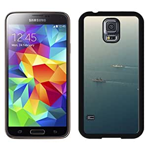 New Beautiful Custom Designed Cover Case For Samsung Galaxy S5 I9600 G900a G900v G900p G900t G900w With Sea Battleship Ocean Nature Phone Case