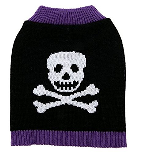 Poison Skull Pet Dog Costume Sweater