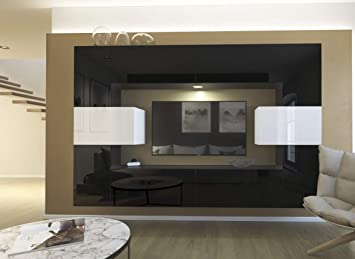 HomeDirectLTD Moderno Conjunto de Muebles modulares Monaco ...