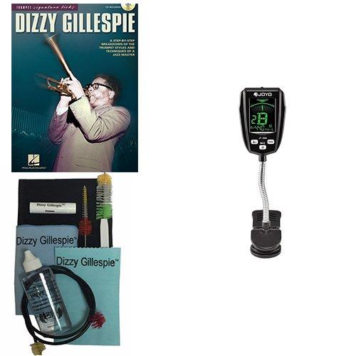 Dizzy Gillespie, Signature Licks Book w/Bonus Dizzy Gillespie Paramount Series Silver Cornet Care & Cleaning Kit Deluxe w/Meisel COM-90 Gooseneck Clip-On Tuner by Dizzy Gillespie (Image #5)