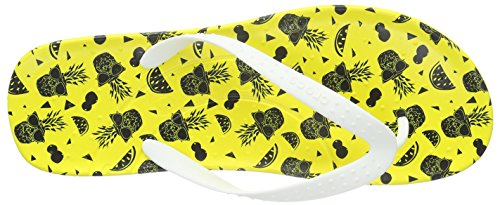 Crocs Unisex Chawaii Fruit Flip Sandalen Citroen