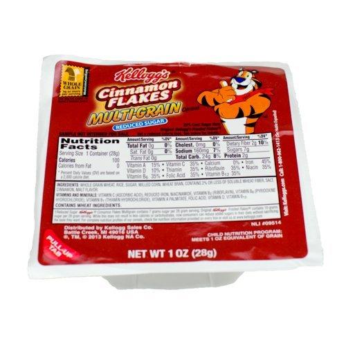 KELLOGG'S Cinnamon Flakes Multi-Grain Cereal Reduced Suga...