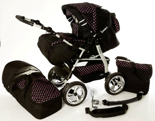 3 In 1 Travel System Pram - 9