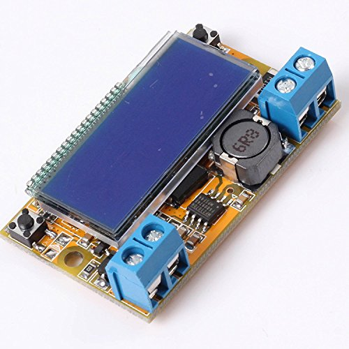 DC-DC adjustable voltage voltage stabilized power supply module shows a display of liquid crystal panel voltmeter double display (1PCS)