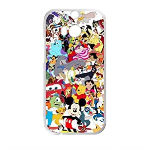 Disney Family Pattern Plastic Case For HTC M8