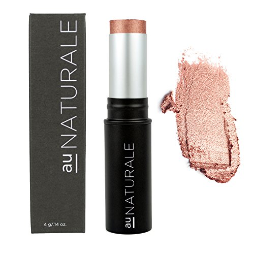 Discount Au Naturale All-Glowing Creme Highlighter Stick in Rose Gold | Made in the USA | Organic | Vegan | Cruelty-free | Cream free shipping