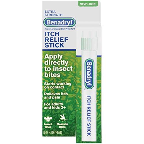 Benadryl Extra Strength Itch Relief Stick, 6 - Stick Relief Itch