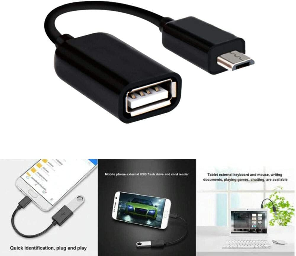 N4U Online/® Male Host to USB Female OTG Cable Adapter For  Kindle Fire HD 7