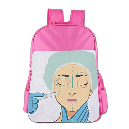 Children's School Bags Surgical Sleeping For Cosmetic Surgery Beautician Lightweight Backpacks Book Bag (Ju Ju Ladybug)