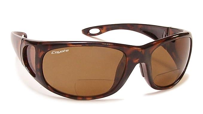 bf12d1b9ba96 Amazon.com  Coyote Eyewear Polarized Bifocal Reader Sunglass ...