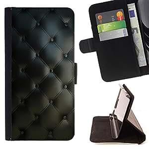 BullDog Case - FOR/Samsung Galaxy S3 Mini I8190Samsung Galaxy S3 Mini I8190 / - / Diamond Quilt Classy Leather Pattern /- Monedero de cuero de la PU Llevar cubierta de la caja con el ID Credit Card Slots Flip funda de cuer
