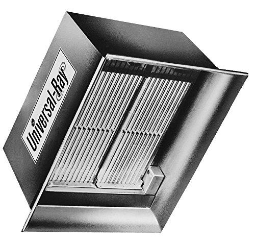 - Universal Ray IR 60P - 60,000 BTU, Propane Gas, Ceramic High Intensity Infrared Heater - 120V, Made in USA