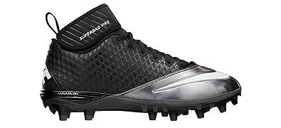 cheap for discount d1a35 12f09 ... NIKE Lunar Super Bad Pro TD Mens Football Cleats 13.5 Black Metallic  Silver ...