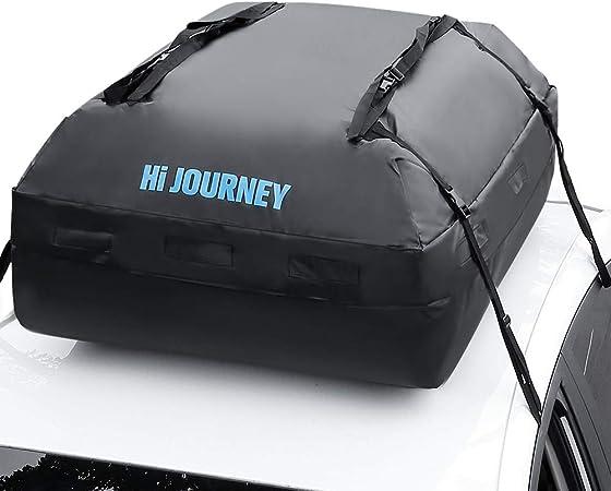 Add a Link TitleRabbitgoo Rooftop Cargo Carrier Waterproof Car Roof Top Cargo Bag