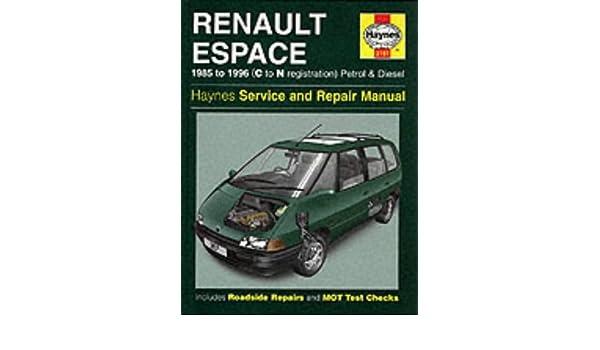 Renault espace 3 service manual fr ebook pro form cross trainer 970 manual array renault espace petrol u0026 diesel 85 96 c to n haynes service and rh fandeluxe Gallery