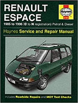 Renault espace service and repair manual haynes service and renault espace service and repair manual haynes service and repair manuals john s mead 0038345031977 amazon books fandeluxe Choice Image